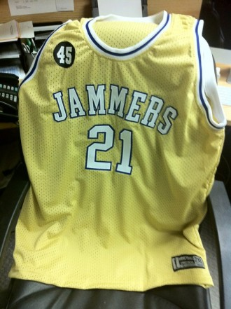 Windjammer Jerseys to be worn by Halifax Rainmen on Throwback Night March 17