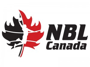 Logo for the newly formed National Basketball League of Canada