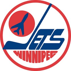 The old Winnipeg Jets logo