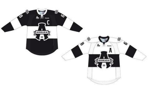 The new Blainville-Boisbriand franchise unveiled its colours as well as the name and logo