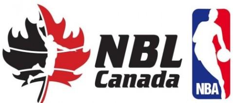 NBL Canada logo and NBA Logo