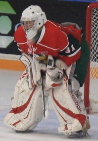 Halifax Mooseheads rookie goalie Zach Fucale