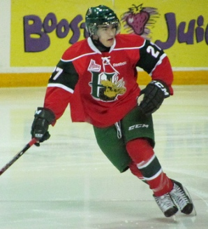 Halifax Mooseheads forward Jonathan Drouin